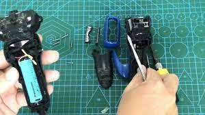 Cách mở máy thay Pin cho máy cạo râu panasonic nội địa Nhật loại dùng đế  sạc không dây - YouTube