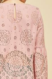 dusty rose pink lace top dusty rose pink46