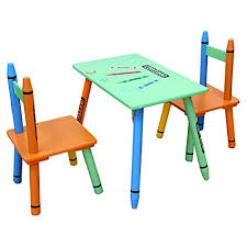 bebe style childrens wooden table and chair set blue b00va93mua