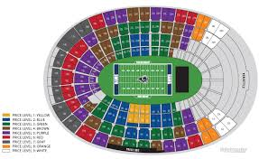 La Coliseum Usc Football Seating Chart Www