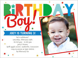 Birthday Invitations Boy Page 141 Best Collection Invitation Template 2019