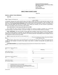 surety bond form hawaii employment agency surety bond