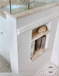 built in bathroom wall storage. Tiny Recessed Marble Shelves Built In Bathroom Wall Storage I