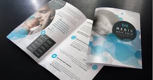 Free Two Fold Brochure Template Free Bi Fold Brochure Template Toddbreda Com