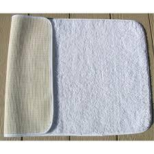 cotton bath rugs faze 3 bleach armour bronze cotton bath rugs w latex back white per