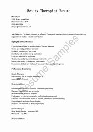 cv for beauty therapist cosmetology resume sample unique math help centre department of