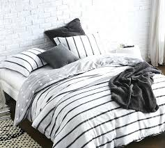 comtable black duvet cover king white