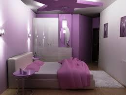 Bedroom Soft Purple Girls Bedroom Decoration Idea With Minimalist - Girls bedroom decor ideas