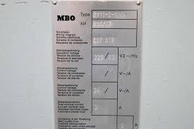 lot 14 2001 mbo b18 20 x 26 paper folder w 8 page return 2001 mbo b18 20 x 26 paper folder w 8 page