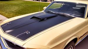 1969 Mustang Mach 1 M code with four speed nut and bolt restored ...