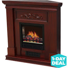 electric fireplace with 38 mantle dark cherry