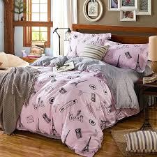 paris bedding sets charming themed cotton bedding set paris bedding set twin xl