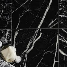 black marble floor tiles. Black Marble Effect Wall \u0026 Floor Tile, Pack Of 5, (L)305mm (W)305mm | Departments DIY At B\u0026Q Tiles