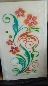 glass painting designs glass etching