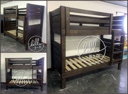 Sturdy Design Co Our Www Hellojoandco Com Super Sturdy Simple Twin Over Twin