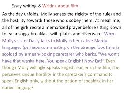 essay writing writing about film part the return brought to 6 essay