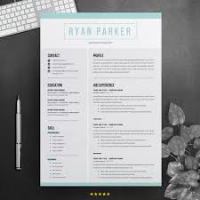 Ryan Parker Professional Resume Template 71464