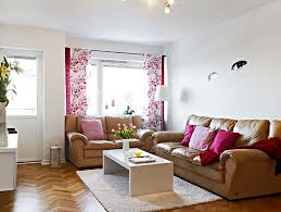 Sample Living Room Designs Suprising Simple Living Room Design With Brown Sofa And White