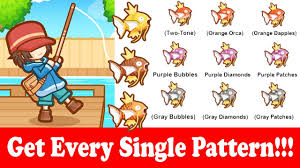 All Magikarp Patterns Stunning How To Get All The Patterns In Magikarp Jump YouTube