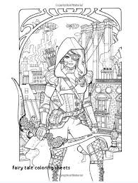 Fairy Tale Coloring Pages Inspirational Fairy Tale Coloring Sheets