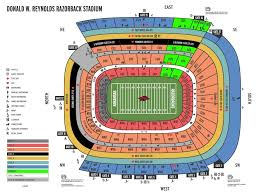 Stylish Razorback Stadium Seating Chart Seating Chart