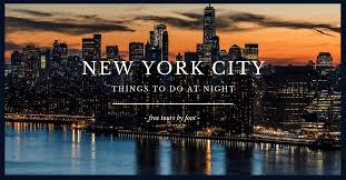 things to do at night in new york city
