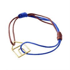 アリータ Aliita Castia Pura Cord Bracelet 9kyg カシータ 家モチーフ