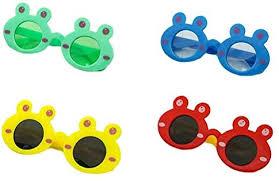 SUPVOX 4 Pairs <b>Frog</b> Shape Sunglasses Plastic Frame <b>Cartoon</b> ...