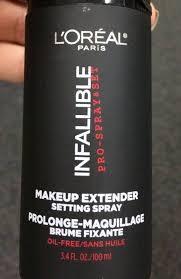 l oreal infallible pro spray set makeup extender setting spray 100ml new ebay