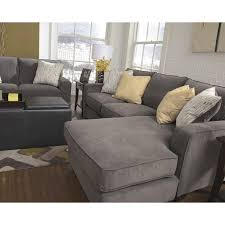 Ashley Furniture Hodan Fabric 2 Piece Sectional in Marble