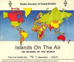 iota islands on the air award условия получения  iota