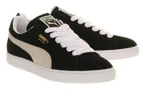 puma shoes suede black. puma suede classic black white ec56878 shoes