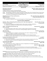 Examples Of Resumes Best Resume Example 2017 Intended For 85