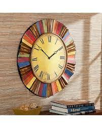 oversized wall clock