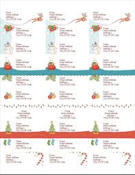 Avery Mailing Label Template 5160 Address Labels Christmas Spirit Design 30 Per Page Works