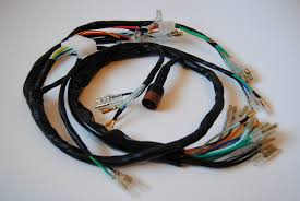 diablo cycle bull parts by model bull honda sohc fours main wiring harness honda cb750 k0 to k1