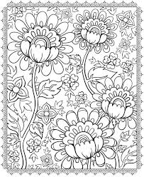 Preschoolers and kindergartners would enjoy the quilt and flower designs. Flower Pattern Coloring Pages Coloring Home