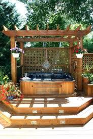 hot tubs design hot tub deck design best backyard hot tubs ideas on hot tub patio