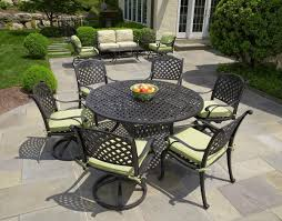 round outdoor dining sets. Full Size Of Patios:round Patio Dining Sets For 6 Furniture 9 Piece Outdoor Round