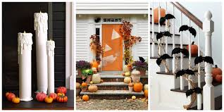 Halloween Decorations 40 Easy Diy Halloween Decoration Ideas Homemade Halloween Decor