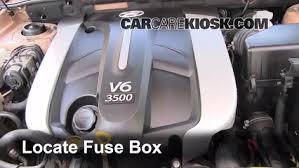 2005 Hyundai Santa Fe Fuse Box 2005 Hyundai Santa Fe Fan Sensor Switch