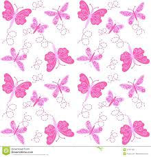 Butterfly Pattern Magnificent Seamless Butterfly Pattern Stock Vector Illustration Of Garden