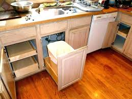 average kitchen trash can size awesome best farmhouse cans ideas bathroom small awesom