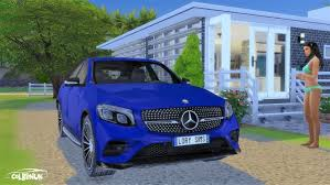 Lory Sims: Mercedes-Benz GLC Coupe • Sims 4 Downloads