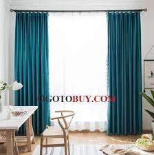 turquoise blackout curtains light blocking loading zoom