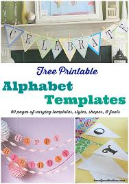 90 pages of free printable alphabet templates with diffe fonts shapes heartore