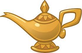 Genie Aladdin Oil Lamp Jafar Light Aladdin Png Download 2113