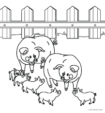 Farm Coloring Pages Preschool Farm Coloring Pages Farm Animal