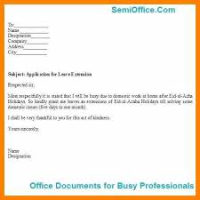 Leave Application Letter In Office.company Leave Letter Sample Leave ...
