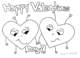 Small Picture Happy Valentines Day Coloring Page FunyColoring